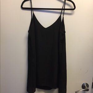 Brandy Melville Black Mini Slip Dress